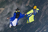 Spring 2011 Skydiving : Wingsuits in flight.
